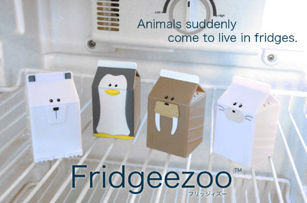 fridgeezoo 36 Clever (and Quirky) Packaging Designs
