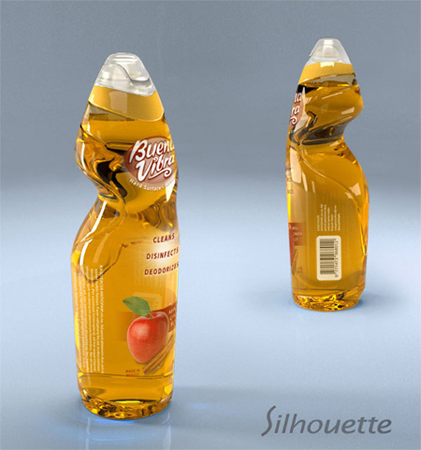 Silhouette Optimized Grip Bottle