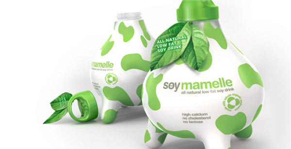 soy mamelle 36 Clever (and Quirky) Packaging Designs