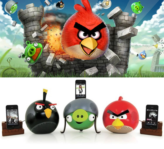 Angry Birds док-станции для iphone ipad ipod