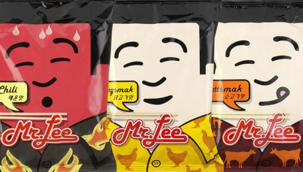 mr lee 36 Clever (and Quirky) Packaging Designs